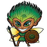 Feral Fairy Mini Mythic