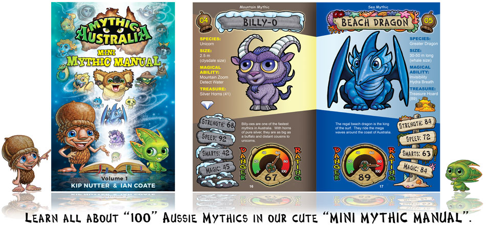 Mythic Australia Children's book