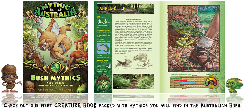 Australian mythical and magical creatures book